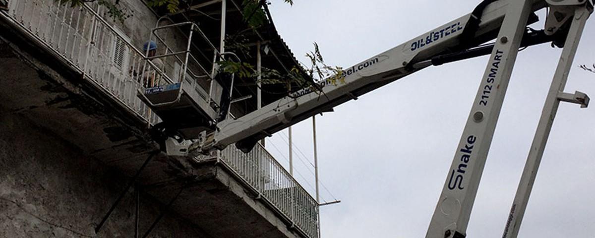 Noleggio Piattaforma Aerea | Mifra Costruzioni